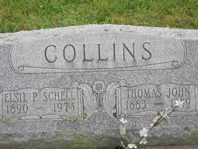 Thomas John and Elsie P. (Schell) Collins