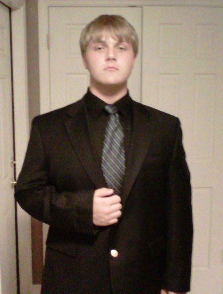Kyng Sweyn Shroeder I in a Suit