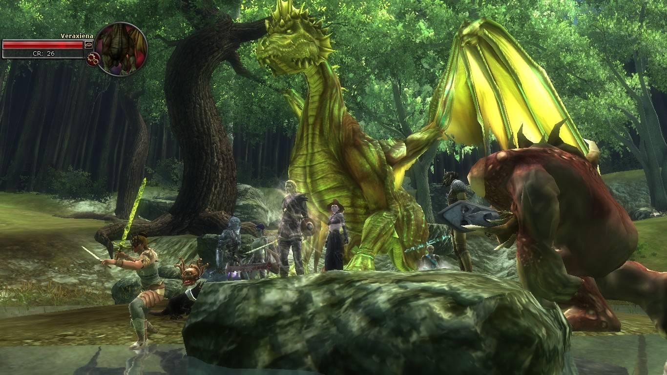 With Dragon Veraxiena