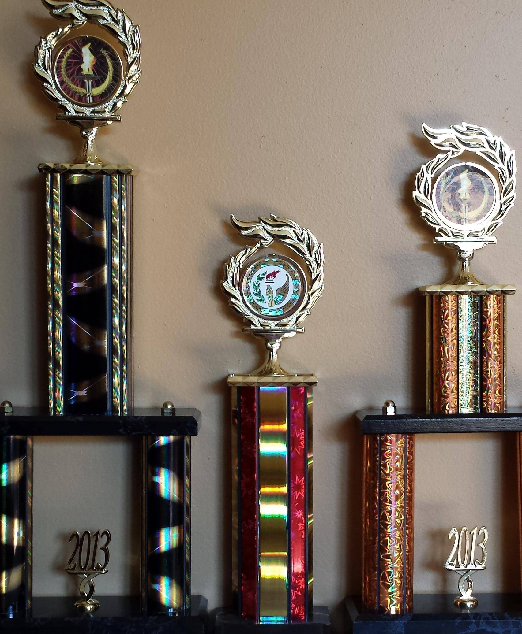 Trophies - All Sizes