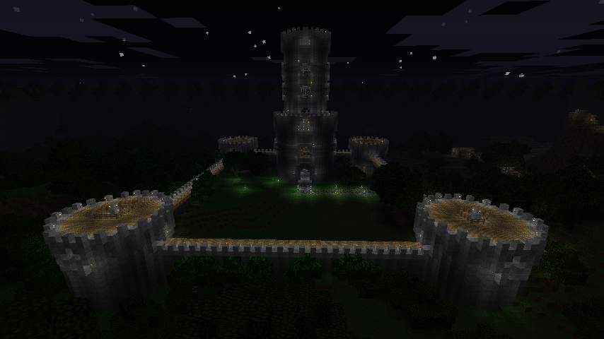 Green Vale Castle - Walls Complete