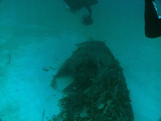 Small unkown wreck in 120FT south of Sea Taxi