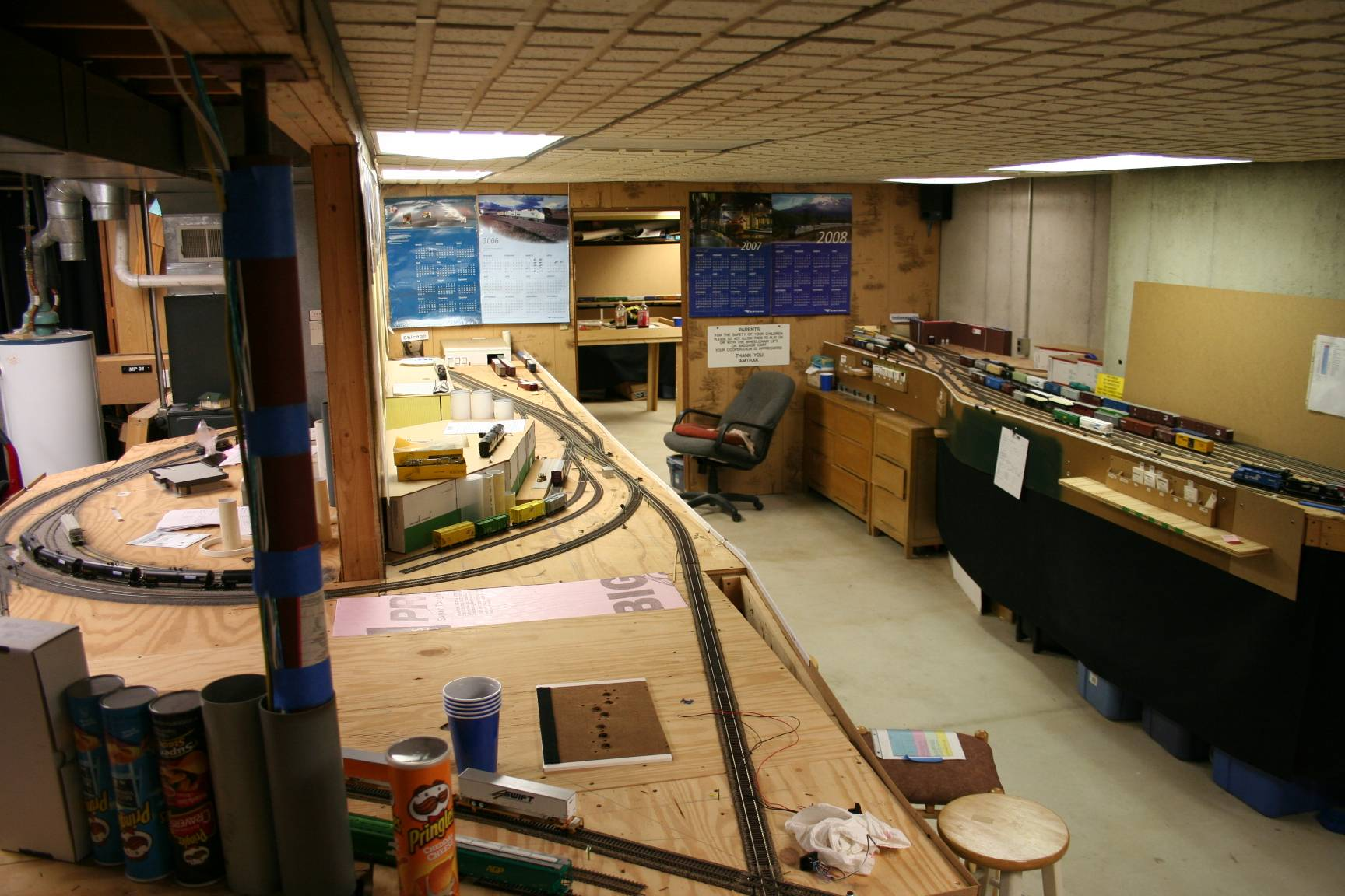 Over view of the layout