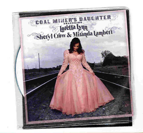 Coal Miner's Daughter Cd single promo 2010