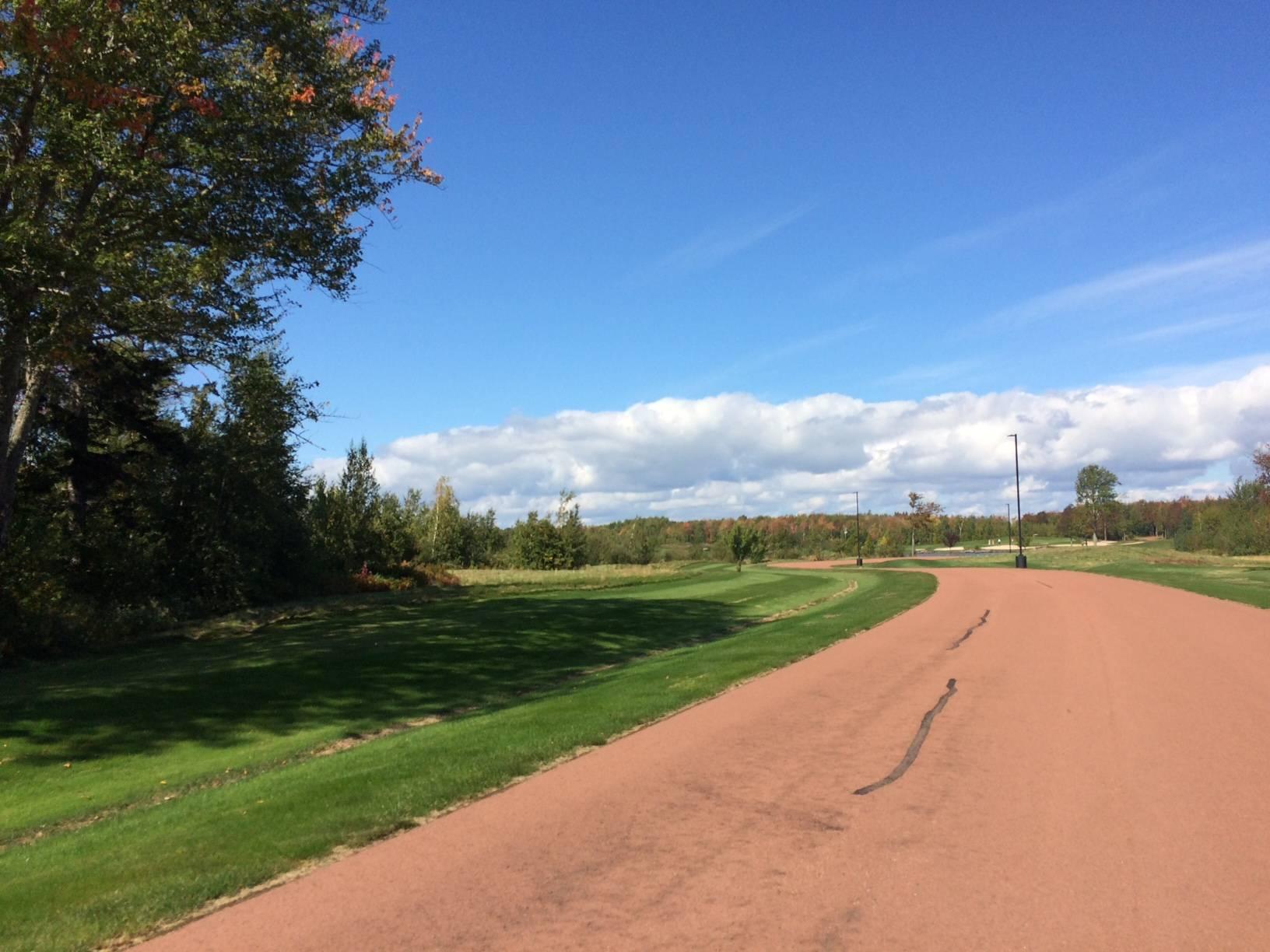 Main road of Fox Harb'r