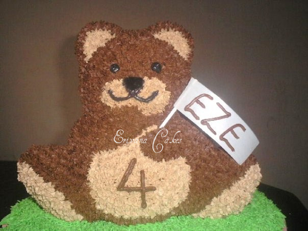 Brown Teddy Bear (B127)