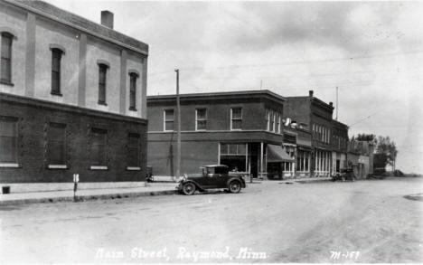 Raymond bank corner 1920s