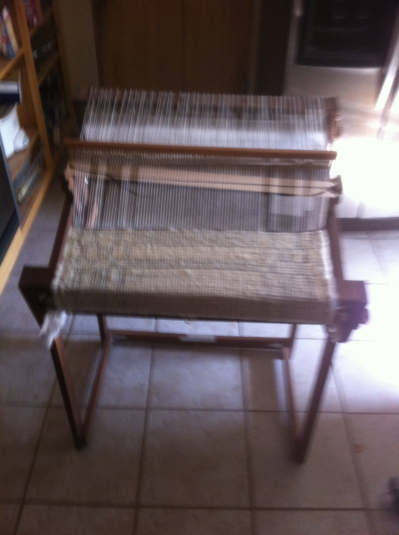 "24"" Rigid Heddle Loom"