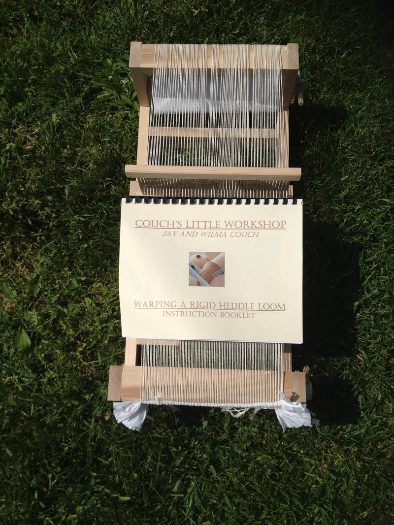 """10"""" Loom and Warping Instruction Book"""