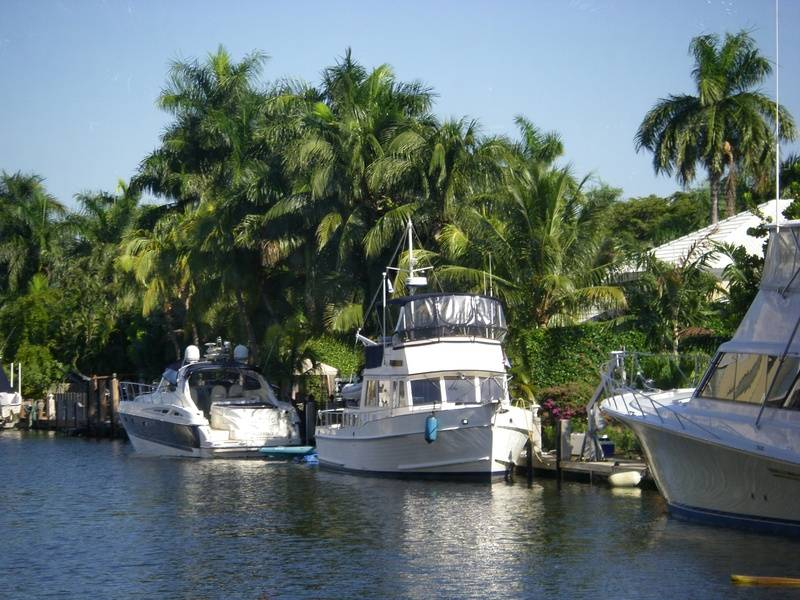 The 'Canals' of Fort Lauderdale