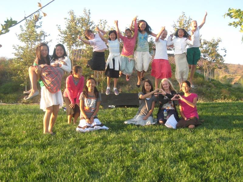 Junior High Sisters at the JH Perfecting Conference