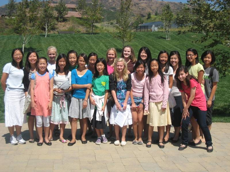 All the sisters from the Church in Irvine!