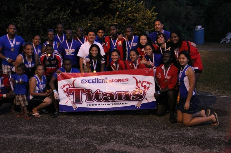 Titans with our Sponsor - Mr. Siu Chong
