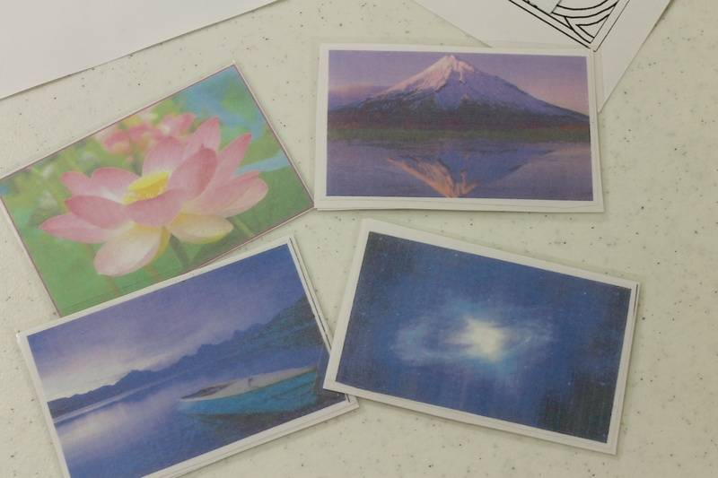 The 4 image cards