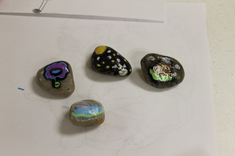 Members finished stones