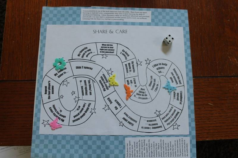 Care and Share boardgame