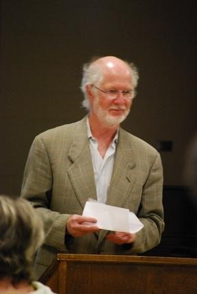 Dr. Robert Morris reads