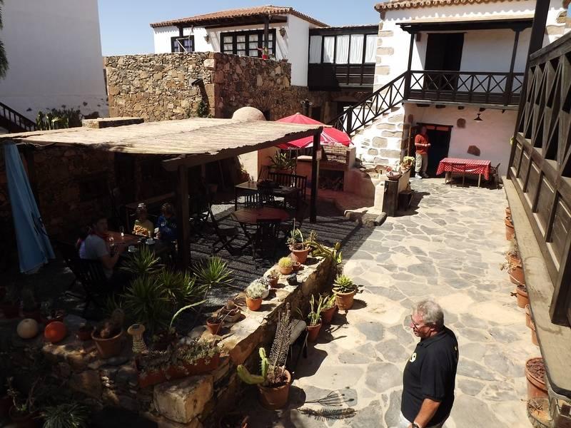 Coffee stop in Pajara