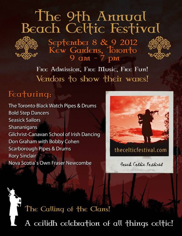 Beaches Celtic Fest Toronto