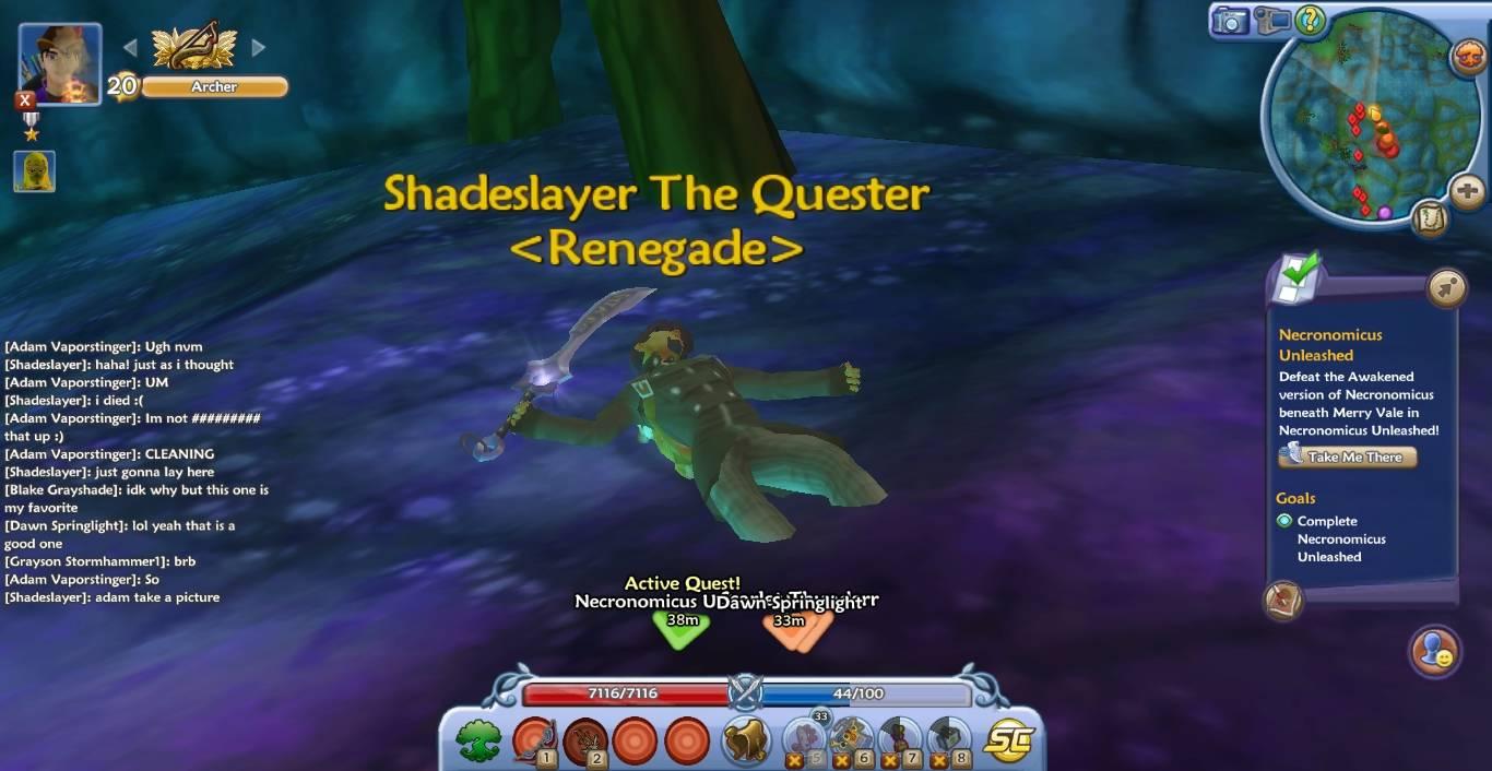 Slayer is half buried!