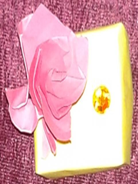 Rose On Box