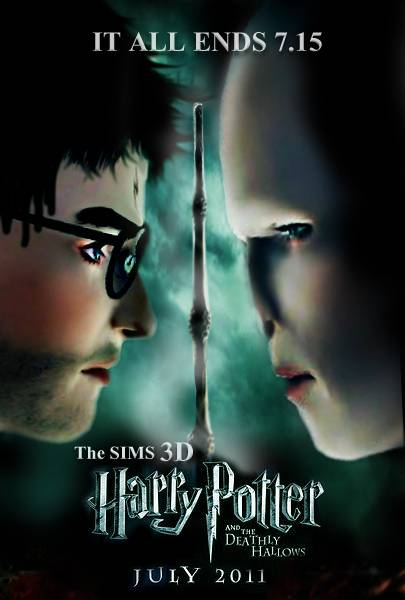 Sims 3 : Harry Potter and the Dearhly Hallows