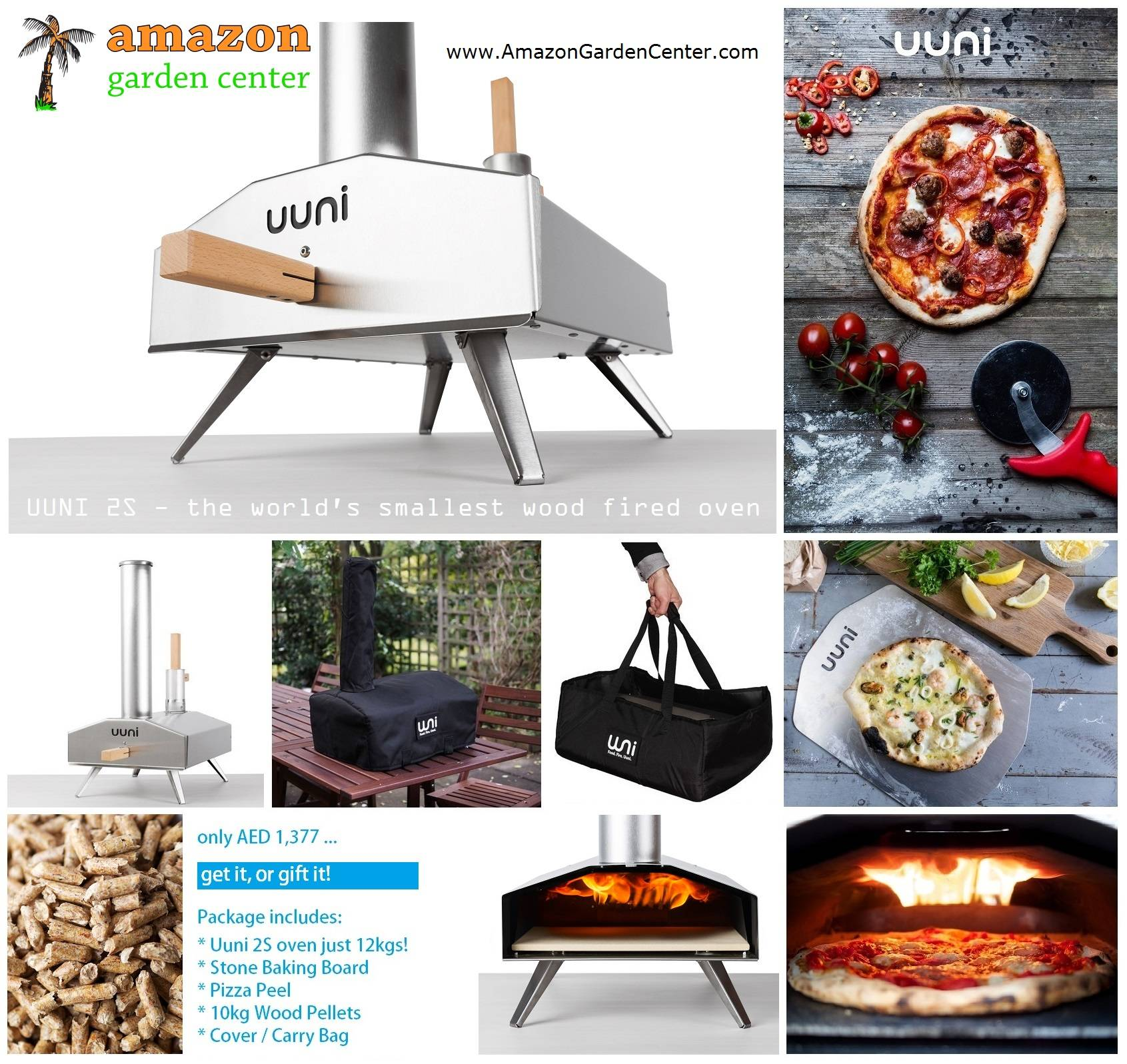 UUNI 2S Wood Fired Oven