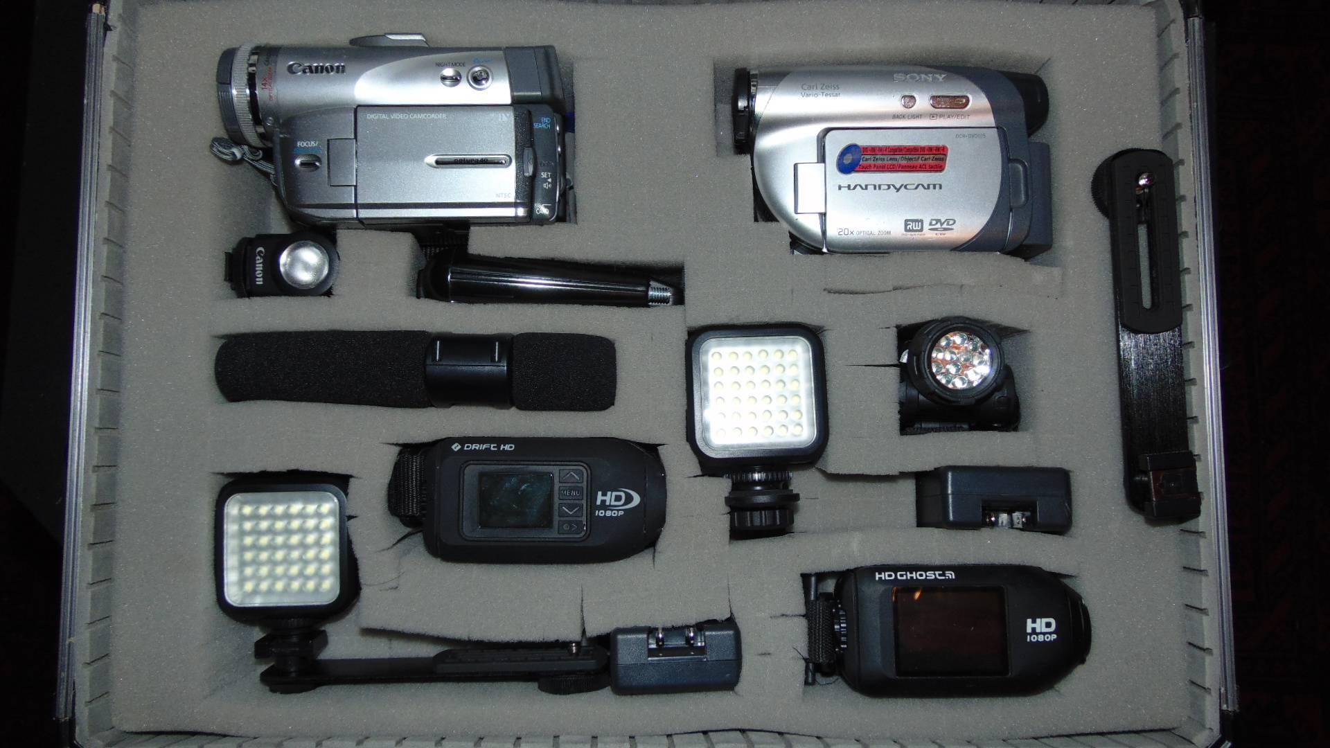 Handheld camcorders & POV action cameras