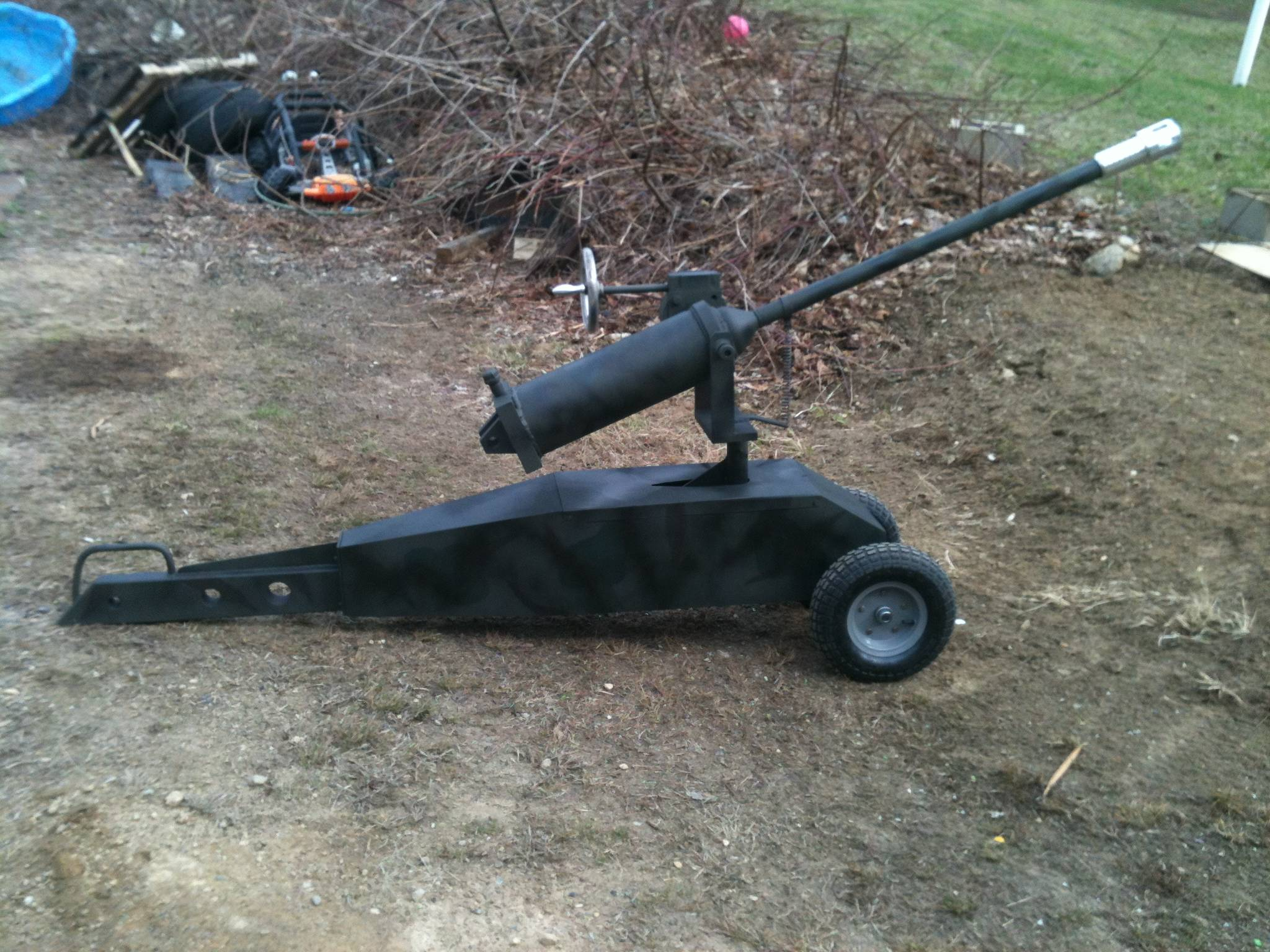 Battery cannon