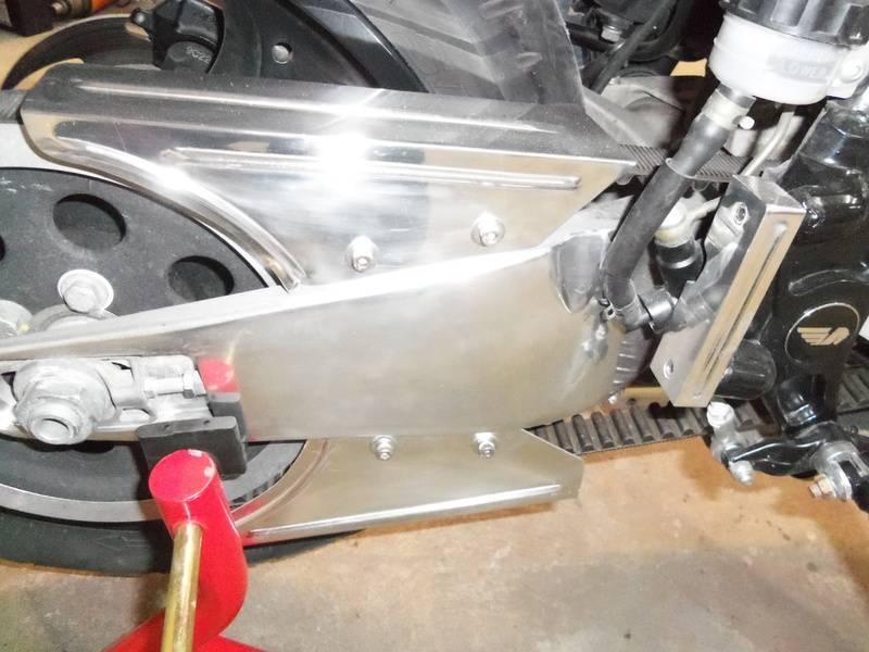 Aluminum belt gaurds