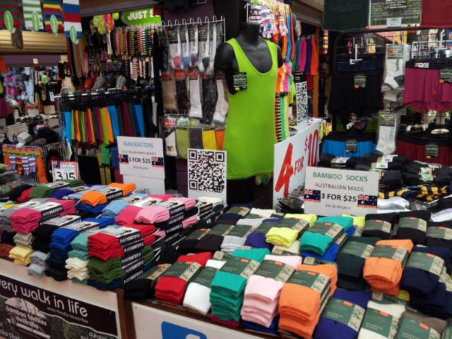 Proudly Australian Made Socks