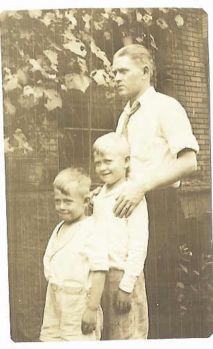 Herman, Ed, Lloyd (Bud)