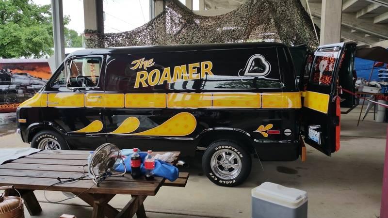 Richard Jackson's van