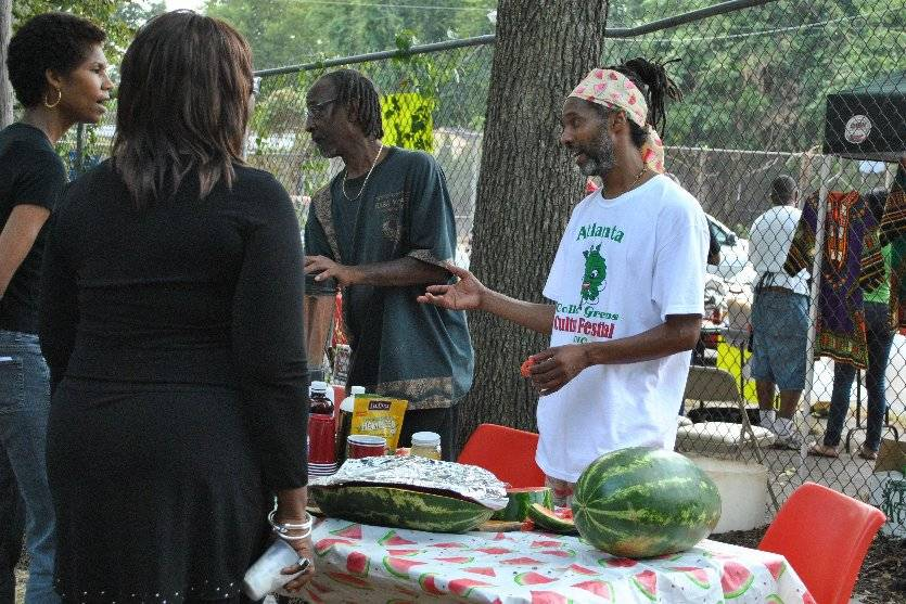 Jumoke's Watermelon Party Booth