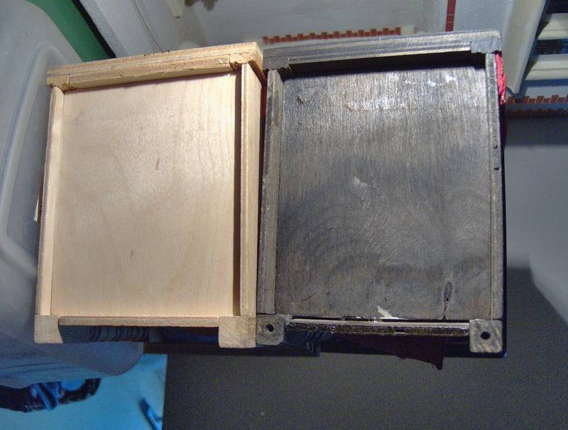 Underside of later beds, note differences.