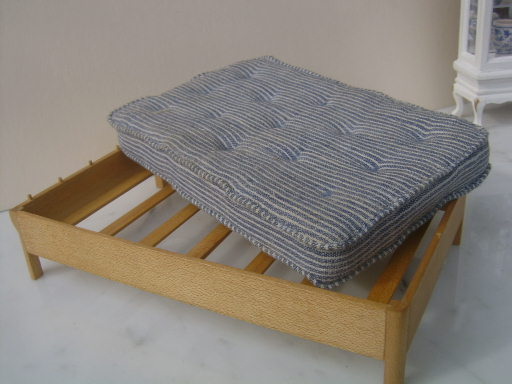 Modern bed, marvellous mattress