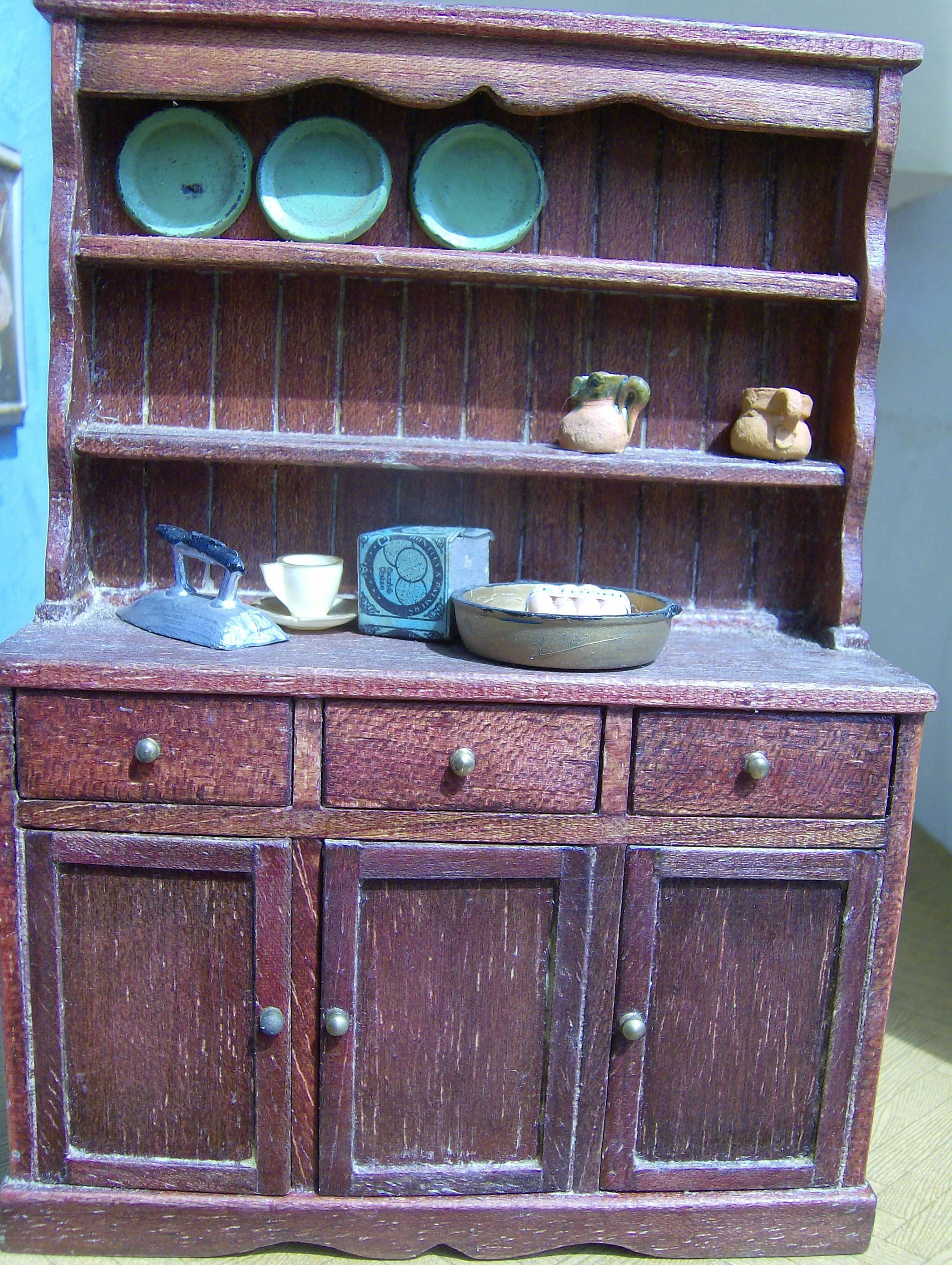 The 1/16th J.N. dresser that Cedric observed in the kitchen.