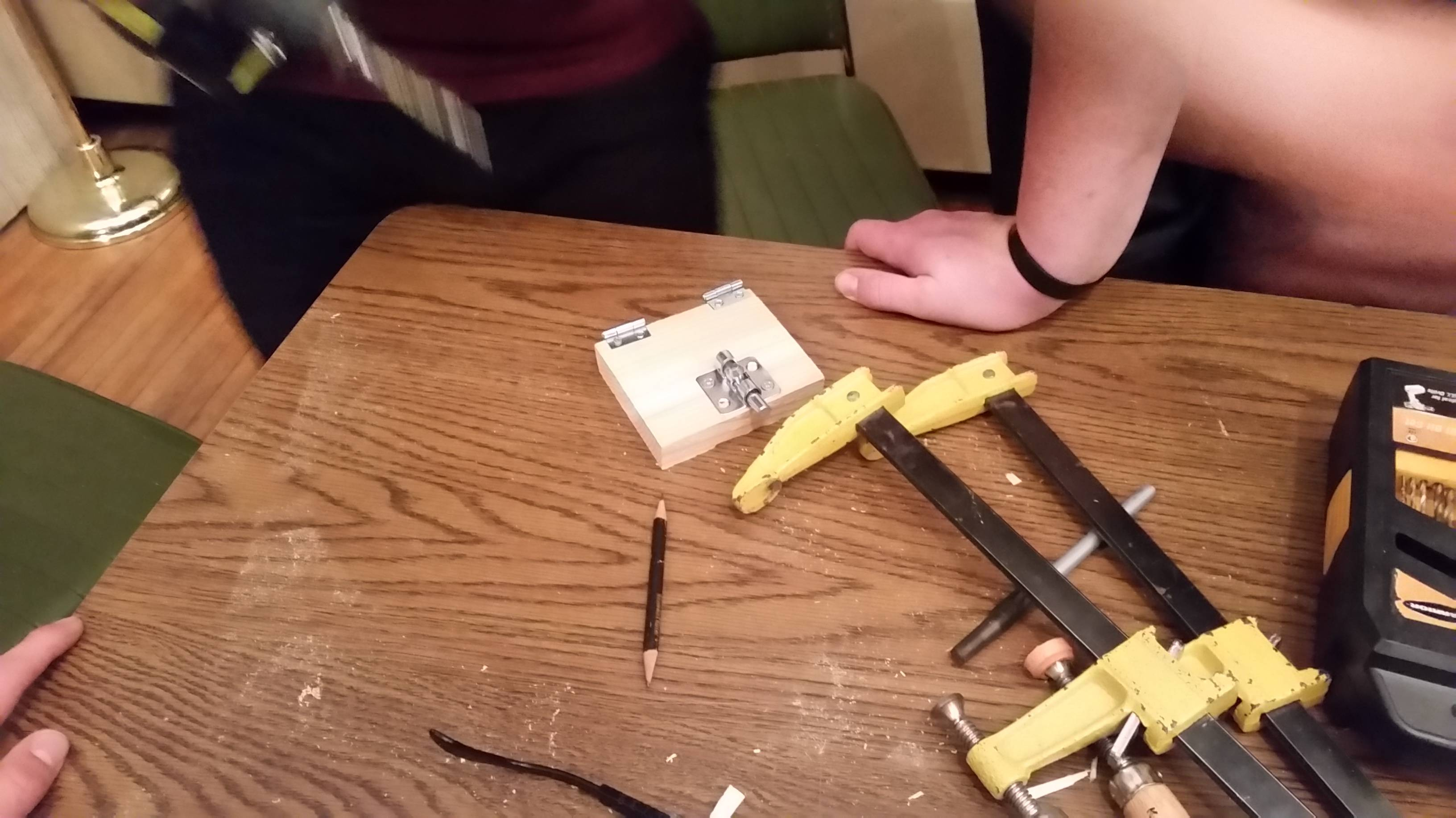Adding hinges