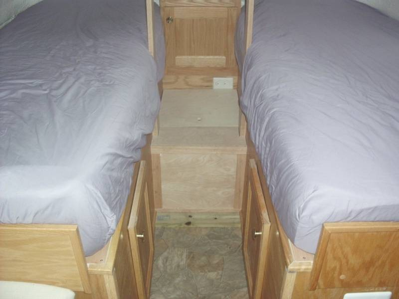 twin bed model