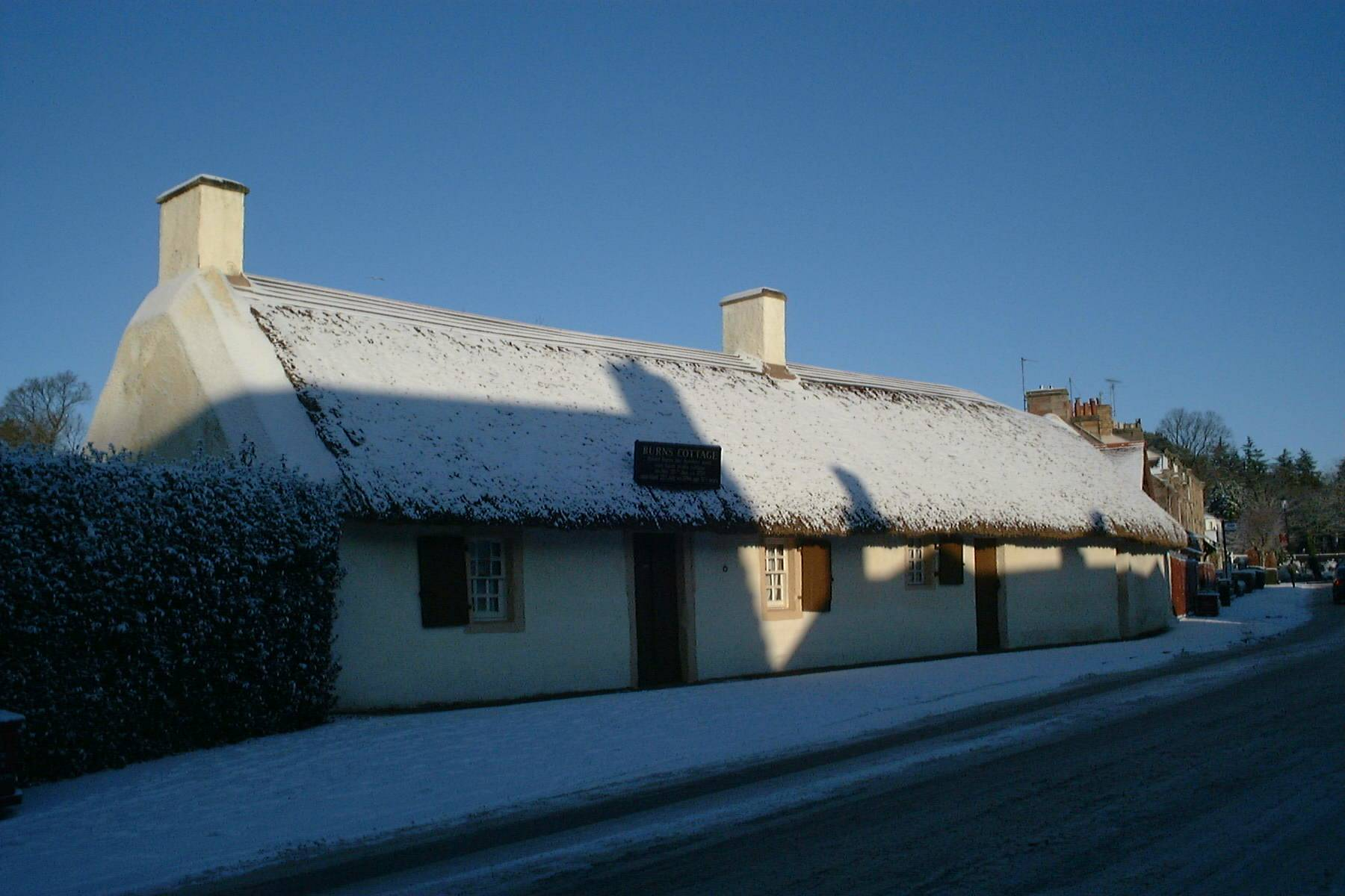 Burns Cottage, Ayr Jan 5th 2010
