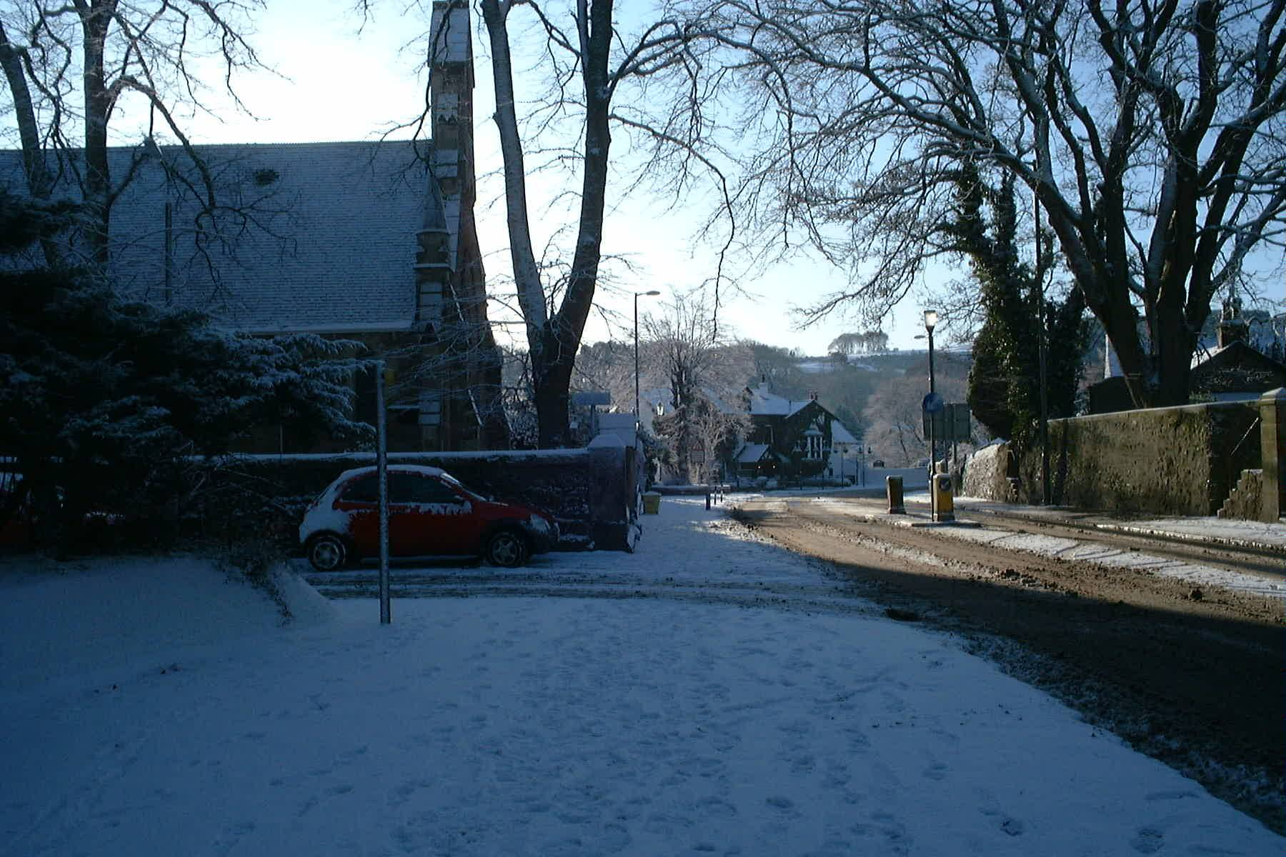 New Alloway Kirk, Ayr , Jan 5th 2010 by Reg Tait