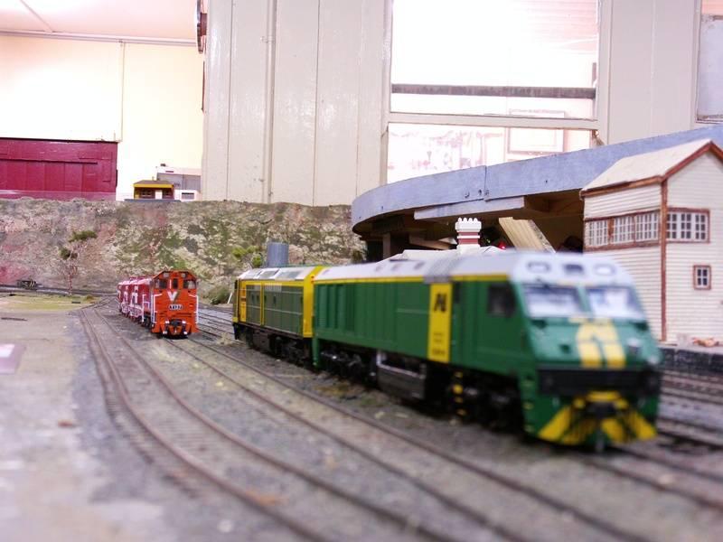 bacchus marsh yard with locos