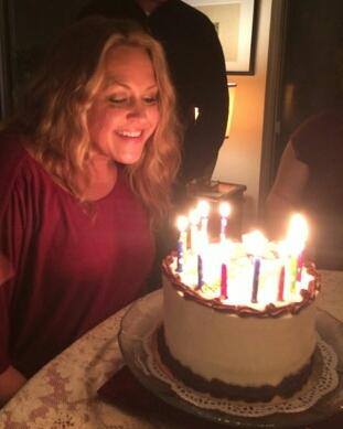 Daughter Yvonne - birthday 2014