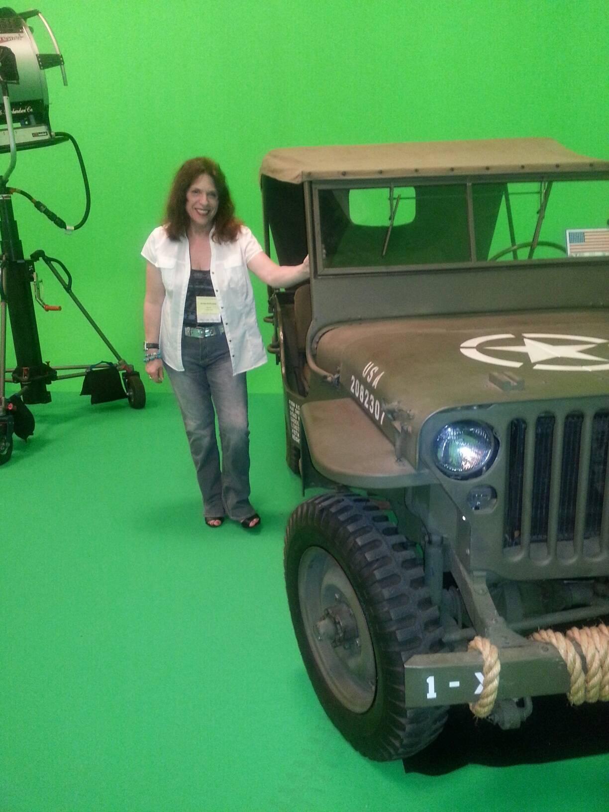 At Triple Horse Movie Studio-2014