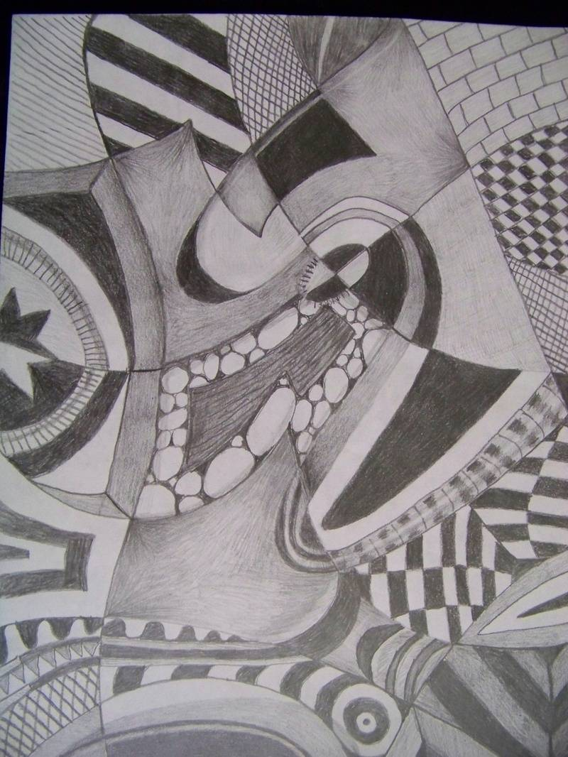 Pencil abstract