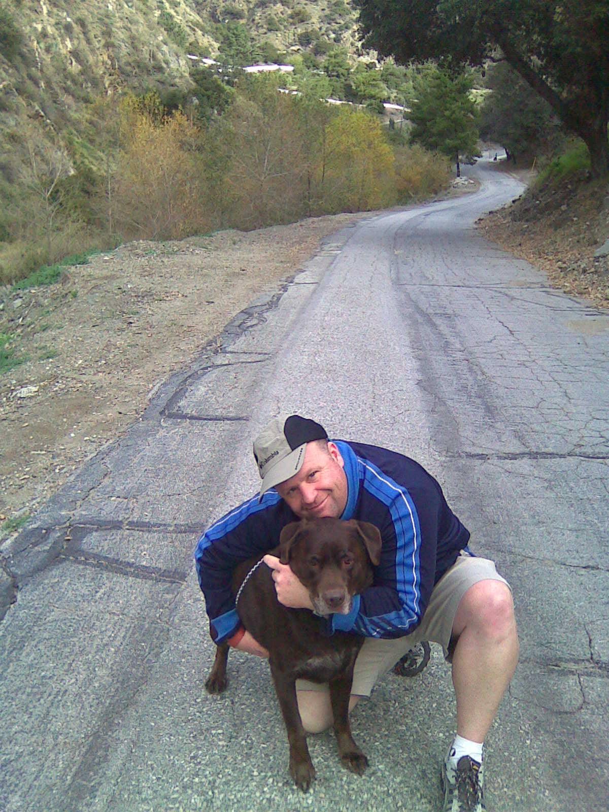 Man with best friend