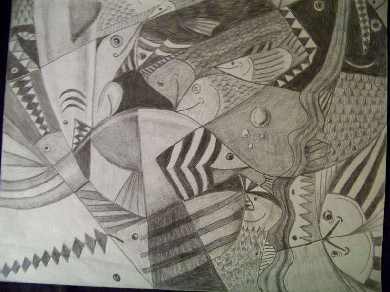 Fish abstract 2