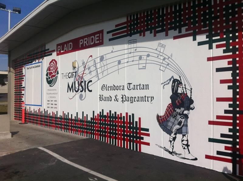 GHS Gift of Music mural
