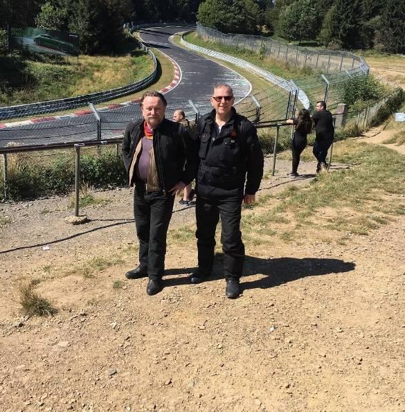 Craig and Mark, Nurburgring
