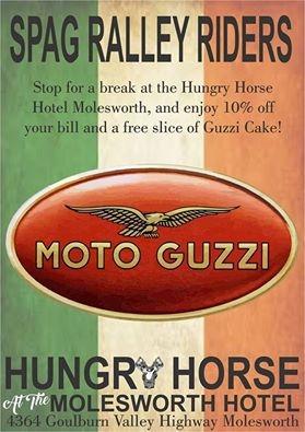 The Hungry Horse Hotel, Molesworth